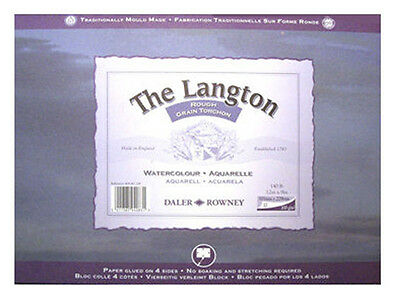 Daler Rowney Langton Watercolour Block - Rough 12  X 9  • 18.99£