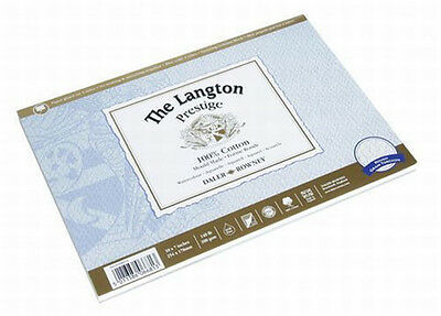 Daler Rowney Langton Prestige Block - Rough - 10  X 7  • 16.99£