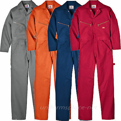 $39.99 • Buy Dickies Coveralls Mens LONG SLEEVE Mechanic Coveralls 4870 Cotton