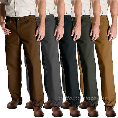 $34.99 • Buy Dickies Work Jeans Mens Relaxed Fit Carpenter Duck Jean 1939 Cotton Pants
