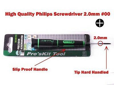 $13.95 • Buy High Quality Phillips Screwdriver 2.0mm #00 For Apple Macbook Pro And PC Laptop