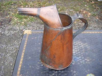 $ CDN162.40 • Buy Early American Handmade Copper Spouted PitcherPRIMITIVE