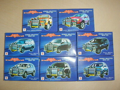 Cross Country Model Car Kits With Pull Back Power.8 To Collect. Street Machines. • 1.30£