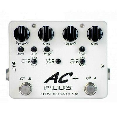 NEW! Xotic Effects AC PLUS - Versatile Dual Channel Preamp Overdrive • 143.59£