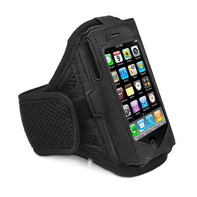£2.95 • Buy IPhone 4 4S Strong ArmBand Case Cover For SPORTS GYM BIKE CYCLE JOGGING RUNNING