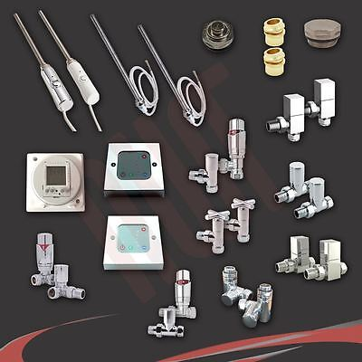 Radiator Valve Sets, Electric Elements, Thermostatic Controllers & Timers • 5£