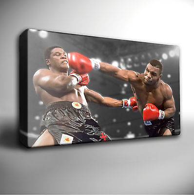 £21.99 • Buy MIKE TYSON - Boxing Icon - Giclee Wall Art CANVAS Picture Prints
