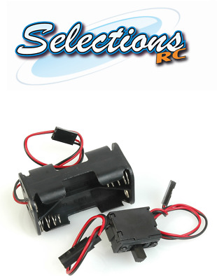 ACOMS Receiver PACK / Battery Box 4.8V FOR AA X 4 Futaba Lead Nitro Car + Switch • 6.99£