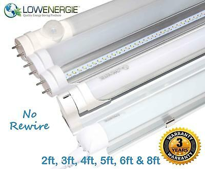 £11.99 • Buy LED Tube Light, Retrofit Fluorescent Energy Saving T8 Or T12 Replacement, SMD