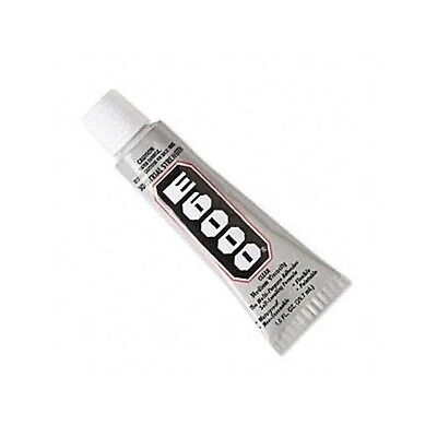 E-6000 CRAFT Jewelry GLUE Multi-Purpose Adhesive  1oz Tube Dries Clear EZ To Use • 7.11£