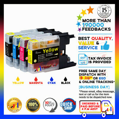 AU16.90 • Buy 10x NoN-OEM Ink Cartridges LC 40 LC 73 LC 77 XL For BROTHER MFC J6510DW J6910DW