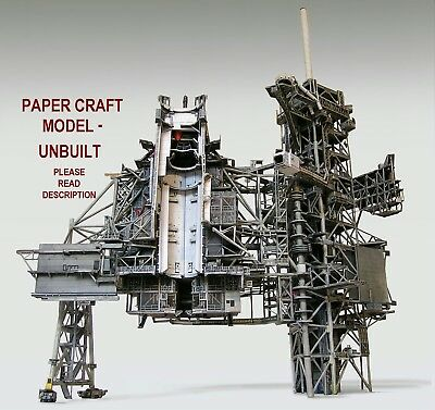 Space Shuttle Launch Complex 39A Model For Airfix/Revell /Boosters 144 PLS.READ! • 58.92£