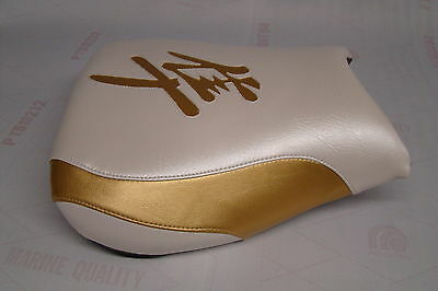 $62 • Buy Hayabusa 1999/00/01/02/03/04/05/06/2007 Gsxr1300 Front Seat Cover  Pearl/gold