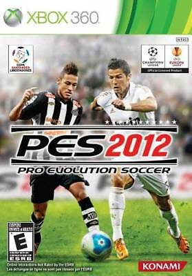 AU10.03 • Buy Pro Evolution Soccer 2012 - UEFA Champions League Copa Satander XBOX 360* NEW