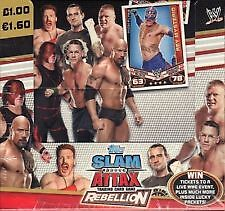 NEW WWE Slam Attax Rebellion 2012 -2013 Pick Your MATCH TYPE  BASE CARDS  • 0.99£