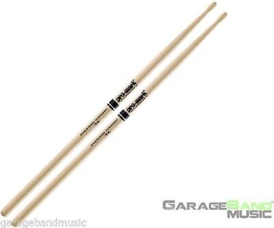 AU15.29 • Buy Promark TX7AW 7A Hickory Wood Tip Drum Sticks, Pair