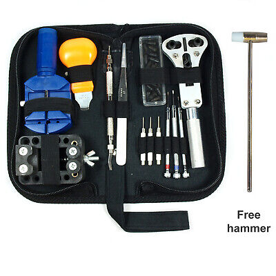 $ CDN18.63 • Buy Watch Repair Tool Kit Case Opener Link Remover Spring Bar Tool - Carrying Case