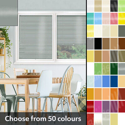 Perfect Fit Aluminium Venetian Made To Measure Blinds - 50 Colour Options • 47.20£