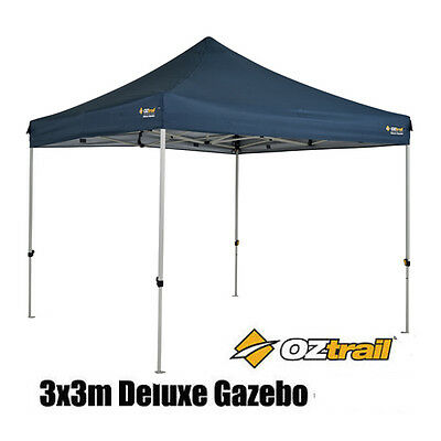 AU179.99 • Buy OZTRAIL DELUXE GAZEBO 3x3m Marquee Stall Stand MARKET