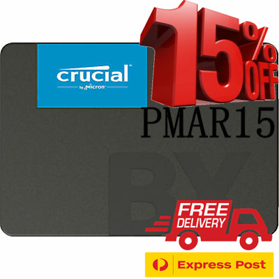 AU70 • Buy Crucial BX500 Series 480GB 2.5  SATA3 7mm Internal Solid State Drive SSD 540MB/s