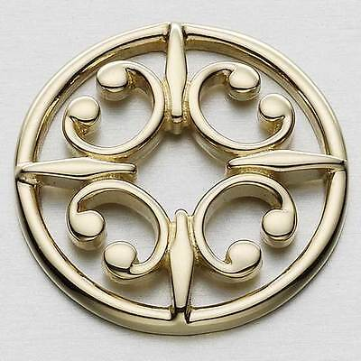 £327 • Buy Scottish Ola Gorie Orkney St Magnus Brooch Pin 9ct Yellow Gold