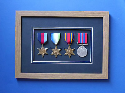 £10.99 • Buy Medal Frame 3d Box Frame World War Military Medals Various Colours To Choose