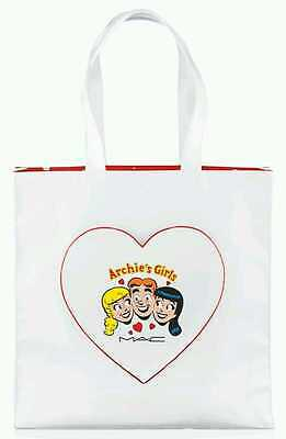 $79.99 • Buy MAC Cosmetics Archie's Girls Yours Forever Tote Bag Purse Limited Edition