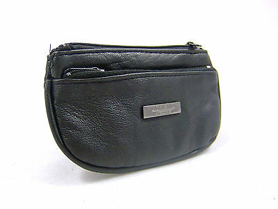 $ CDN8.68 • Buy New Mens Womans Real Geniune Leather Coin Purse Coin Wallet Pouch Money Pouch