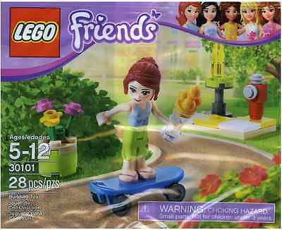 Brand New Lego - Mia And Skateboarder - Friends - 30101 - Polybag Promo • 7.95£