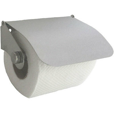 £6.99 • Buy New Designer Wall Toilet Roll Paper Holder Cover Chrome Silver -fixings Included