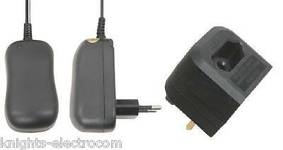 £4.95 • Buy 6V 500mA POWER SUPPLY MAINS ADAPTOR WITH EUROPEAN TRAVEL ADAPTER AC DC