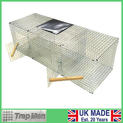 £129.99 • Buy Crow Trap TrapMan  FREE DEL Twin Side Entry Crow Trap Cage UK  Crow Trap Rook