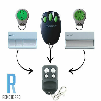 AU11.65 • Buy Merlin+ C945 CM842 C940 C943 Bearclaw Plus Replacement Garage Remote Control