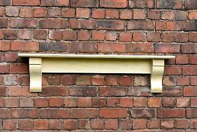 Solid Pine Mantle / Pine Shelf With Corbels / Plus Made Measure Free Delivery • 80£