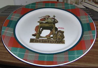 $ CDN7.85 • Buy Saturday Evening Post Norman Rockwell Santa Christmas Mail Collector Plate