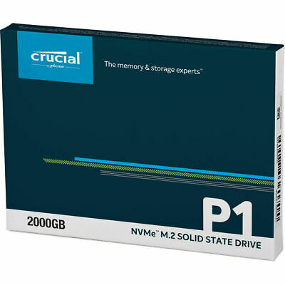 AU129 • Buy Crucial P1 500GB 1900MB/s 3D NAND NVMe M.2 SSD Solid State Drives