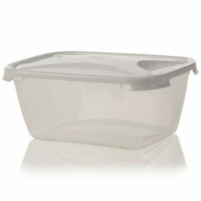 Large Strong Plastic Food Grade Storage Container Microwave Safe 6 Litre 6000ml • 6.99£