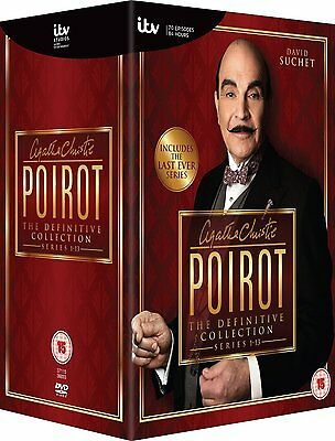 £89.98 • Buy POIROT The Definitive Collection 1-13 SEALED/NEW Dvds Series/volumes Complete