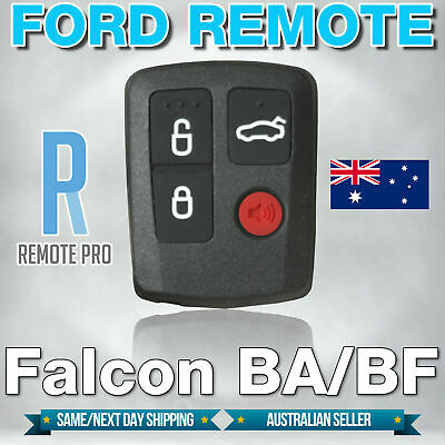 AU8.50 • Buy Ford BA BF Falcon Sedan/Wagon Central Locking Keyless Car Remote 4 Button