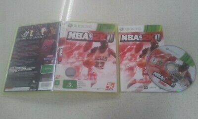 AU11.99 • Buy NBA 2K11 Xbox 360 Game USED PAL Region
