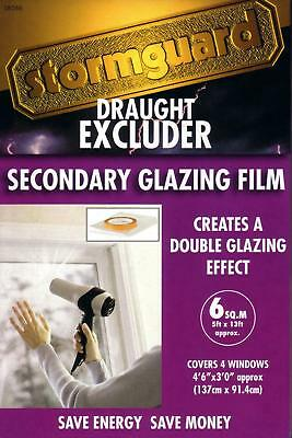 £8.99 • Buy StormGuard Window Insulation Secondary Double Glazing Film Draught Excluder