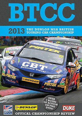 Btcc 2013 Official Championship Review, Dvd, Brand New Sealed • 9.95£