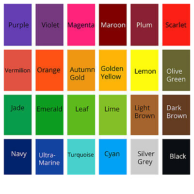 £8.99 • Buy All In One Acid Dyes - Large (50g) - 24 Colours For Wool, Silk, Feathers, Nylon