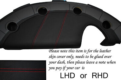 $ CDN274.78 • Buy Red Stitch Fits Lotus Elise Exige S2 2002-2006 Dash Leather Cover Only