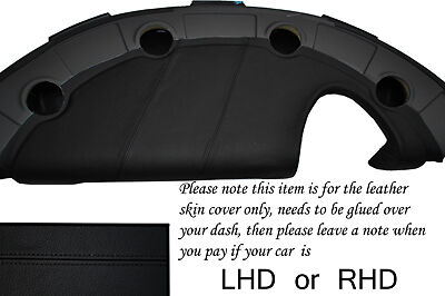 $ CDN265.33 • Buy Black Stitch Fits Lotus Elise Exige S2 2002-2006 Dash Leather Cover Only