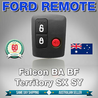 AU8.50 • Buy To Suit Ford BA BF Falcon Territory SX SY Ute/Wagon 02'-10' Car Remote 3 Button