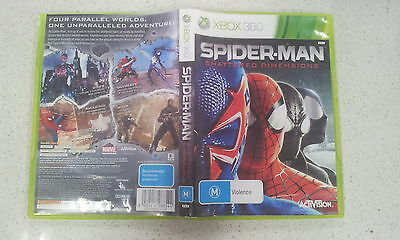 AU89.50 • Buy Spider-man Shattered Dimensions Xbox 360