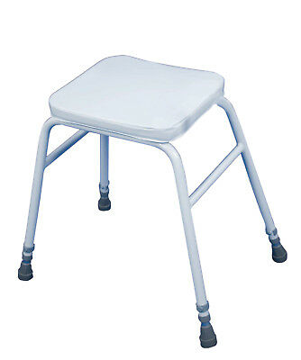 £36.99 • Buy Wren Perching Stool White Adjustable Height - Kitchen, Shower & Home Use