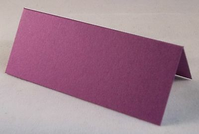 £4.75 • Buy 100 Cadbury Purple Wedding Table Place Cards, Perfect For All Parties