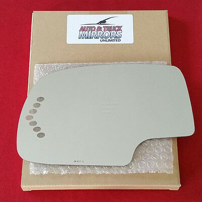 $15.95 • Buy NEW Mirror Glass + ADHESIVE For CHEVY GMC TRUCK SUV Driver Side POWER TURN SIGNL